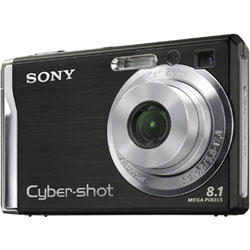 Sony Cyber-shot DSC-W90 Black
