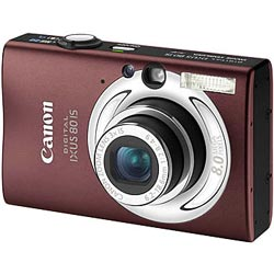 Canon Digital IXUS 80 IS Brown/Silver