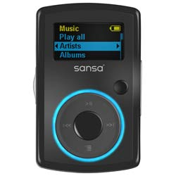 Sandisk Sansa ClipFM 2GB Black